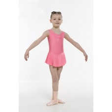 ISTD & NATD Regulation Skirted Leotard Ruched Front