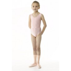 Regulation Sleeveless Leotard Plain Front with Belt