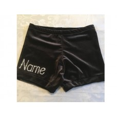 FLICS Gymnastics Personalised Shorts (Name on Front Leg)