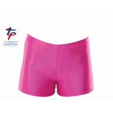 New Kaleidoscope Range - Pink Hologram Shine Hipster Shorts
