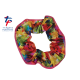 New Kaleidoscope Range - Tropical Fantasy Starburst Scrunchie