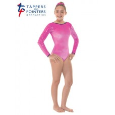 Electric Pink Smooth Samurai and Cerise Foil Long Sleeved