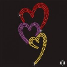 Coloured Heart Motif