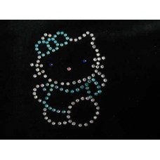 Blue Kitty Motif