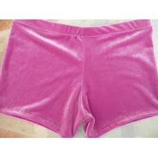 Plain Pink Hipster Leotard Shorts