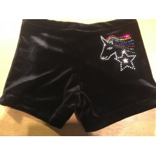 Unicorn Hipster Leotard Shorts